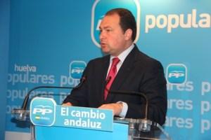 David Toscano, alcalde de Aljaraque, diputado provincial, vicepresidente de Giahsa y vicepresidente del PP, entre otros cargos.