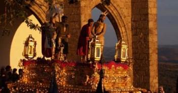 Una de las imágenes de la Semana Santa de Aracena.