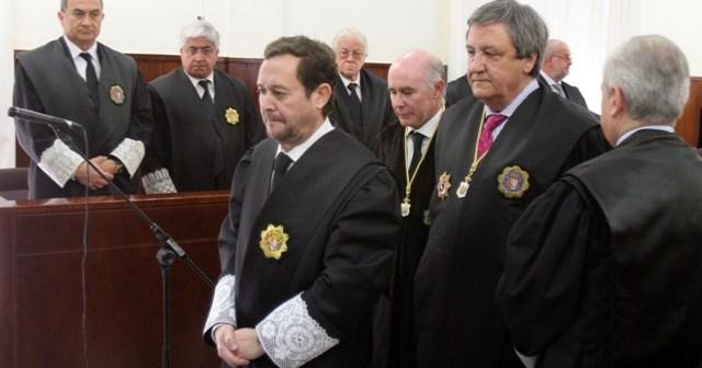 Antonio Germán Pontón Práxedes, el día de su toma de posesión. (Julián Pérez)