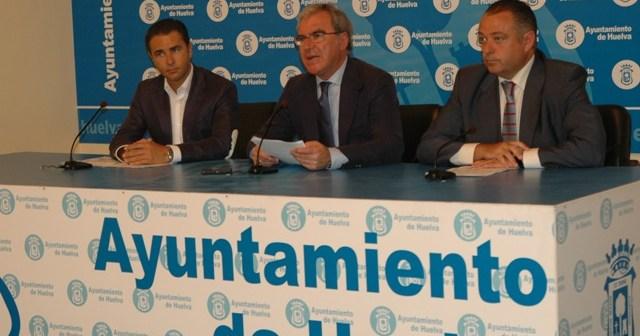 Arias, Moro y Adame en rueda de prensa.