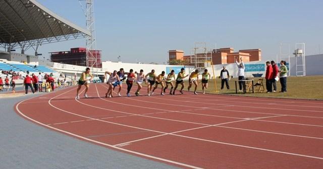Atletismo en el Estadio Iberoamericano.