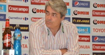 Fernando Iturbe, secretario técnico del Recreativo. (J. Pérez)