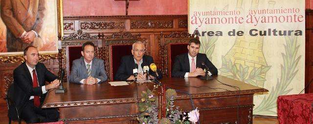Presentación de la actividad de la Caixa en Ayamonte.