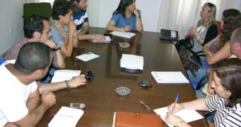 Reunión de coordinación del plan de asentamientos.