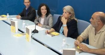 Presentación del libro en la Diputación.