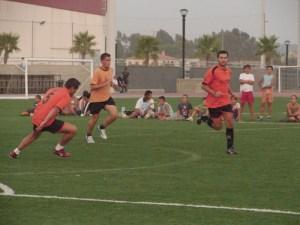 Torneo de fútbol en la provincia.