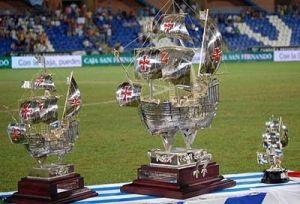 Carabelas del Trofeo Colomnbino.