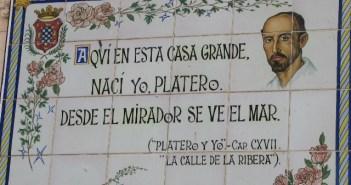 Moguer quiere recordar a Platero con un monumento.