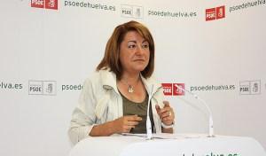Antonia Moro en rueda de prensa.