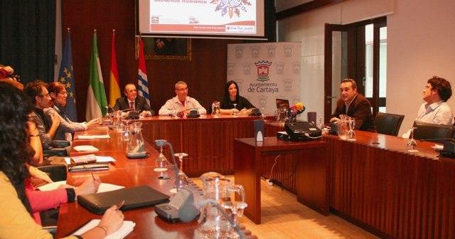 Presentación del proyecto en Cartaya.