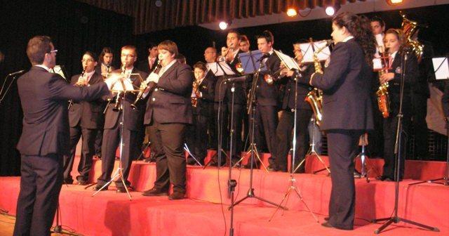 Banda municipal de Almonte.