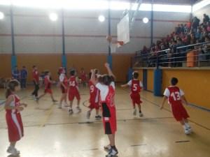 Concentración de baloncesto de cantera en La Palma del Condado.