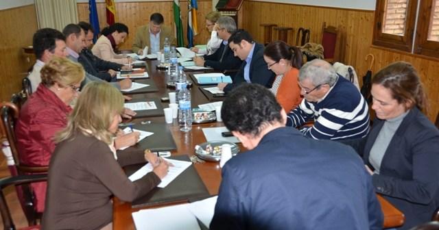 Pleno del Ayuntamiento de Palos.