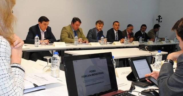 Reunión del Foro en el PCTH en Aljaraque.