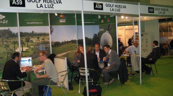 Stand de 'Golf Huelva La Luz'.