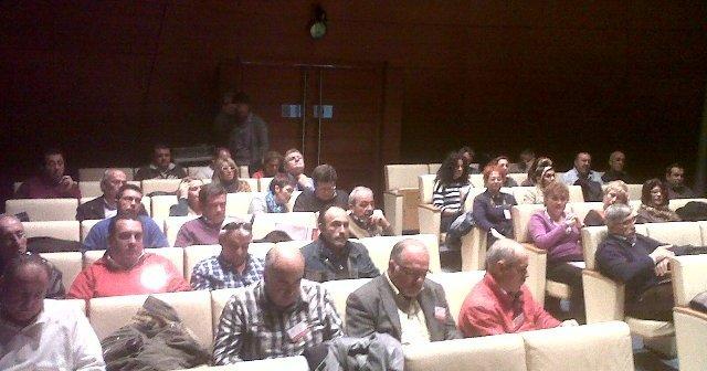 Participantes en el comité ordinario de FSP-UGT.