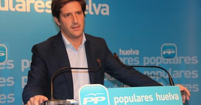El portavoz del PP en la Diputación, Guillermo García.