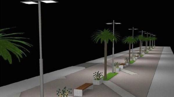 Nueva avenida Cristo de la Sangre de Gibraleón.