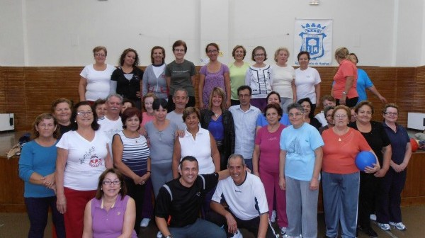Participantes en el Taller de Salud de Marismas del Odiel.