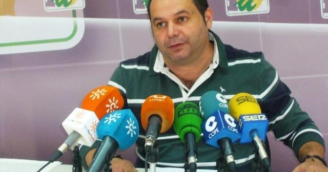 Rafael Sánchez Rufo, portavoz de IU en la Diputación.
