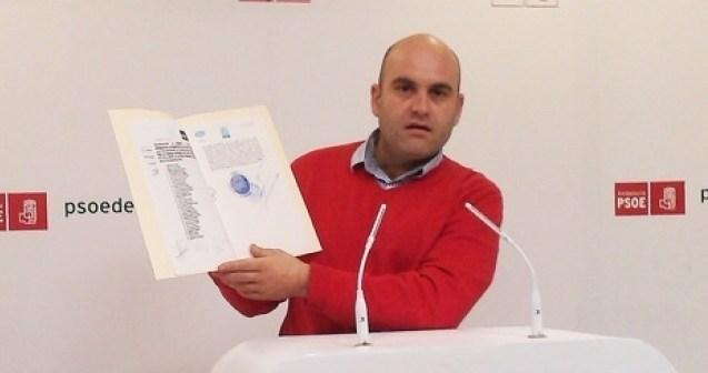 El portavoz socialista en Cartaya, Alexis Landero.