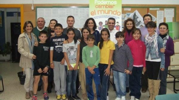 Participantes en el proyecto 'Podemos cambiar el mundo'.