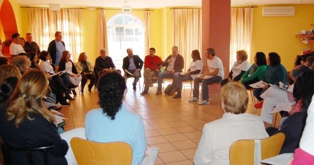 Reunión en la Residencia de Tiempo Libre de Punta Umbría.