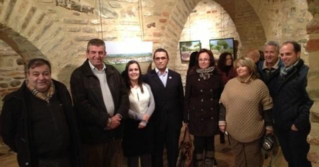 Inauguración de la exposición de paisajes redondeleros.