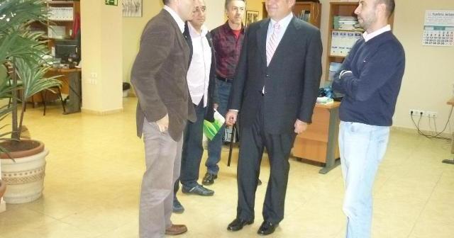 Encuentro del CSIF con Juan Carlos Adame.