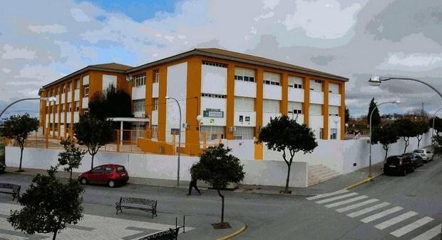 Imagen del IES de Bonares.