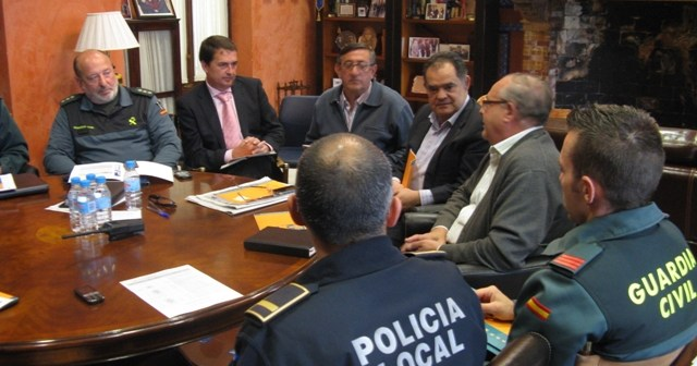 Junta Local de Seguridad en La Palma.