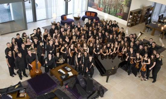 Orquesta Joven de Andalucía.