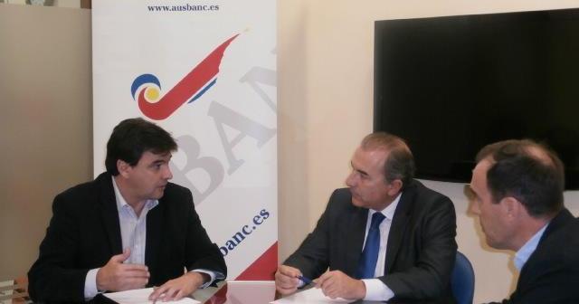 Reunión de Gabriel Cruz con el responsable de Ausbanc.