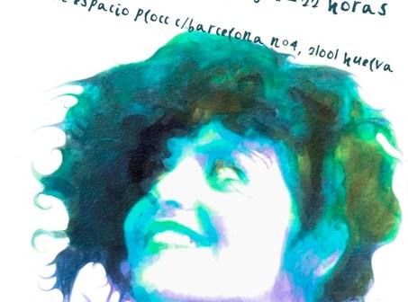 Cartel de la actuación de Inma Gomes.