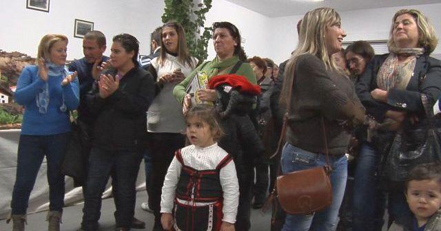 Inauguración del Belén en el barrio de El Banderín en Ayamonte.