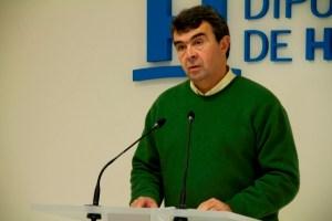José Martín, portavoz socialista en el Ayuntamiento de Aljaraque.