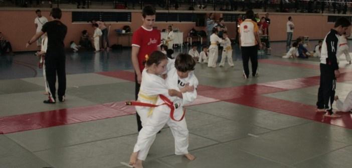 Campeonato de judo en Almonte.