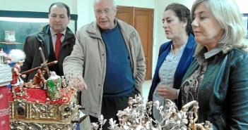 Inauguración de la exposición en Aljaraque.