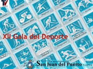 Cartel de la Gala del Deporte de San Juan del Puerto.