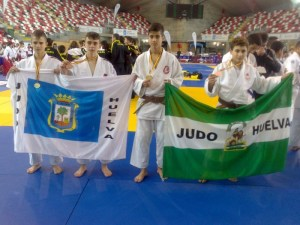 Integrantes del CD Judo Huelva.