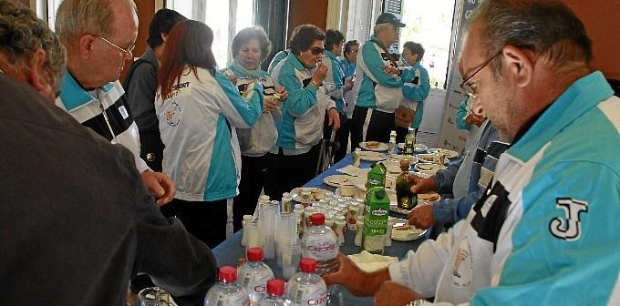 Desayuno cardiosaludable en la Casa Colón de Huelva.