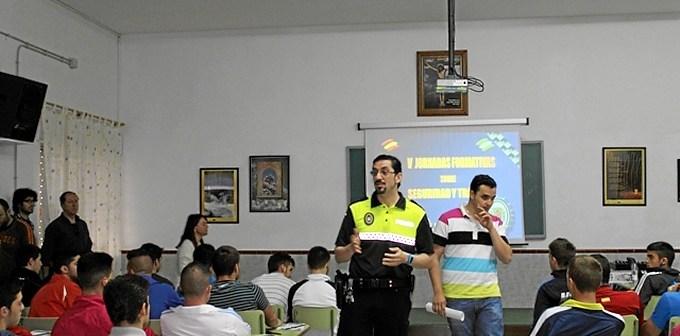 Jornadas de tráfico y seguridad en Bollullos.