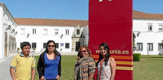 Participantes en el curso en la UNIA.