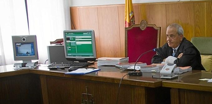 La presencia de Isabel García en el juicio ha sido virtual. (Julián Pérez)