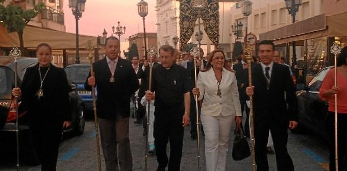 Traslado del Simpecado de la Hermandad del Rocío de Isla Cristina.