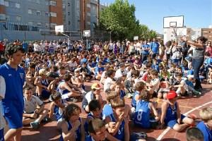 Maristiada en el colegio Marista de Huelva.