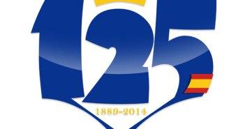 Logo del 125 aniversario del Recreativo de Huelva.