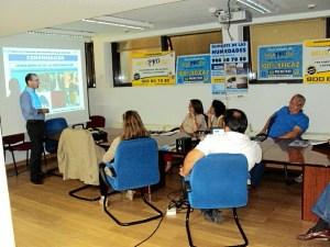 Un momento de la Jornada Tecnica celebrada en la Gerencia Municipal Urbanismo de Huelva.