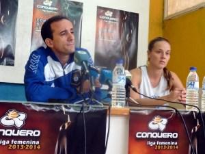 Gabi Carrasco y Tanya Broring.
