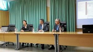 Inauguración del máster en la Universidad de Huelva.